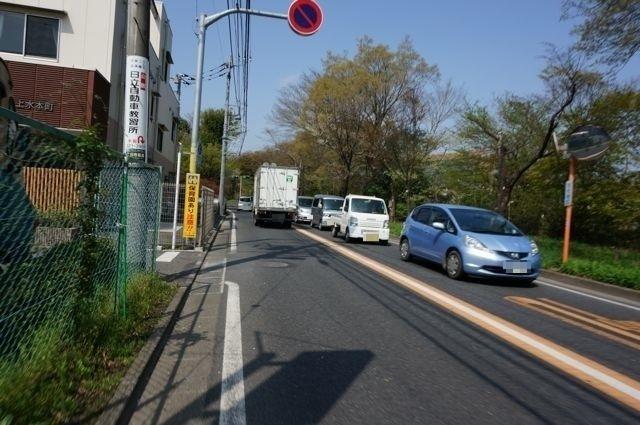 五日市街道(喜平橋の先)
