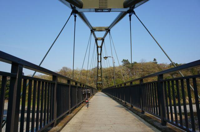 柳淵橋の上