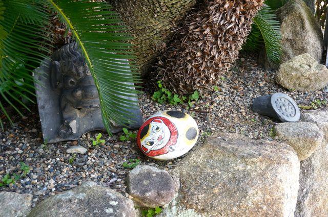 妙宣寺の福石猫