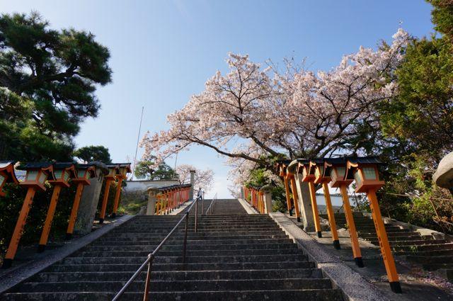 西國寺の石段