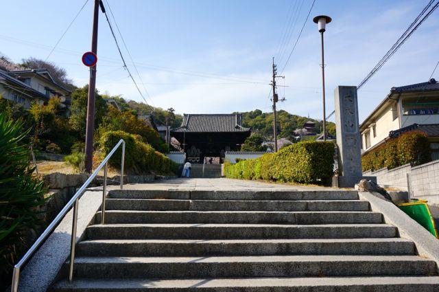 西國寺参道