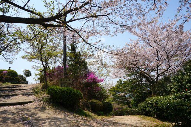 因島公園分かれ道