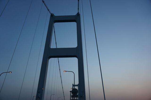 来島海峡第一大橋の塔