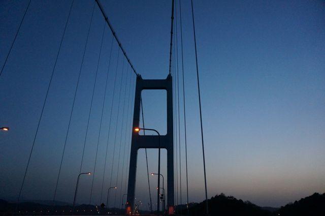 来島海峡第三大橋の塔