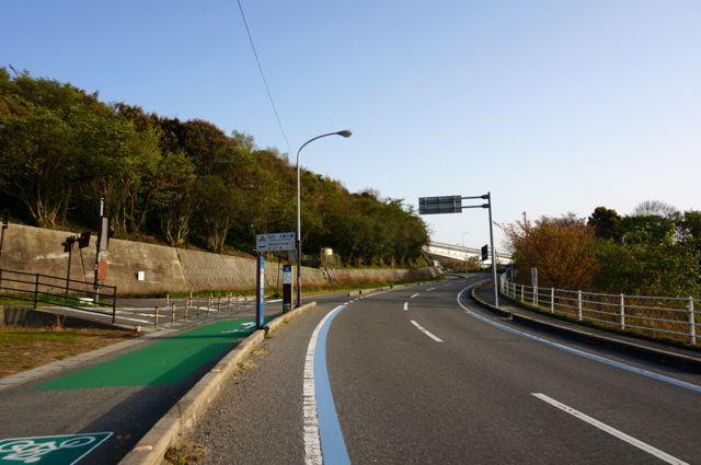伯方・大島大橋への道