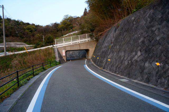 来島海峡大橋への道1