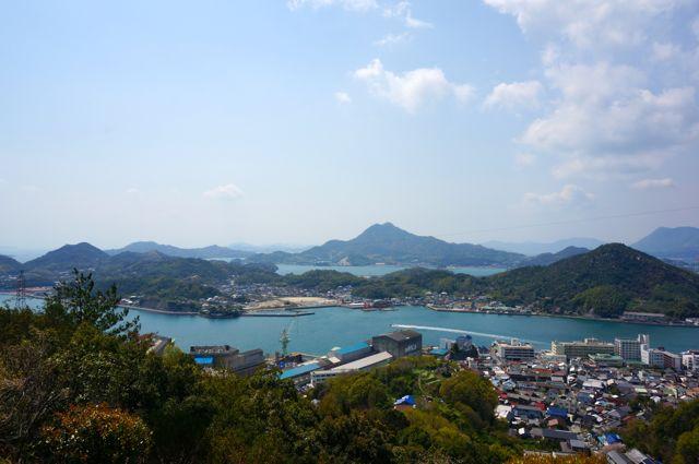 因島公園からの眺め1