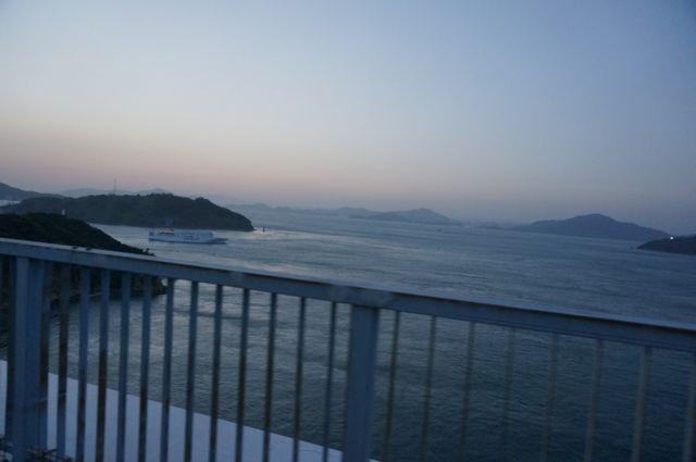来島海峡第二大橋からの眺め