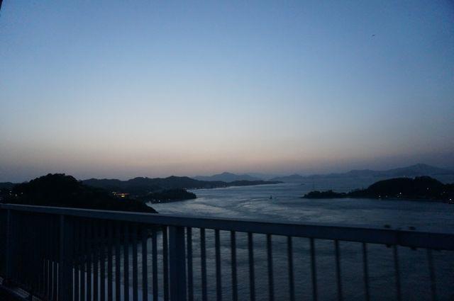 来島海峡第三大橋からの眺め