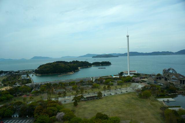 瀬戸大橋からの眺め2