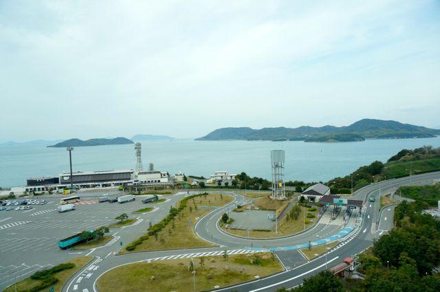 瀬戸大橋からの眺め7
