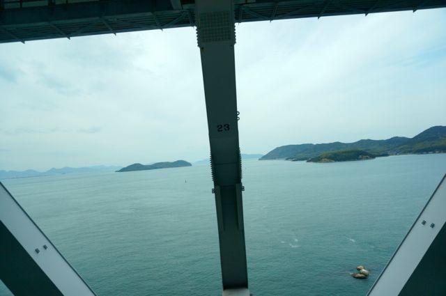 瀬戸大橋からの眺め9