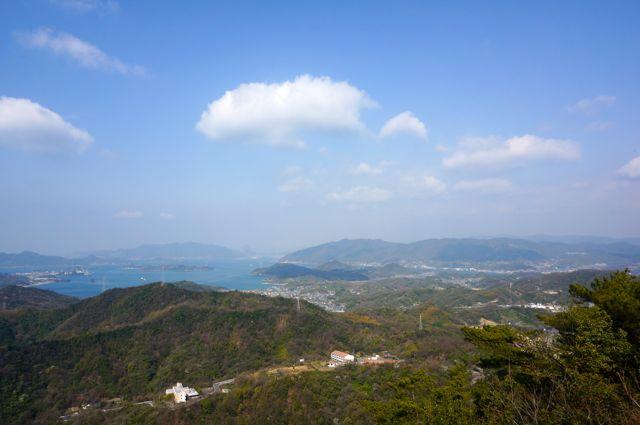 高見山頂上からの眺め2