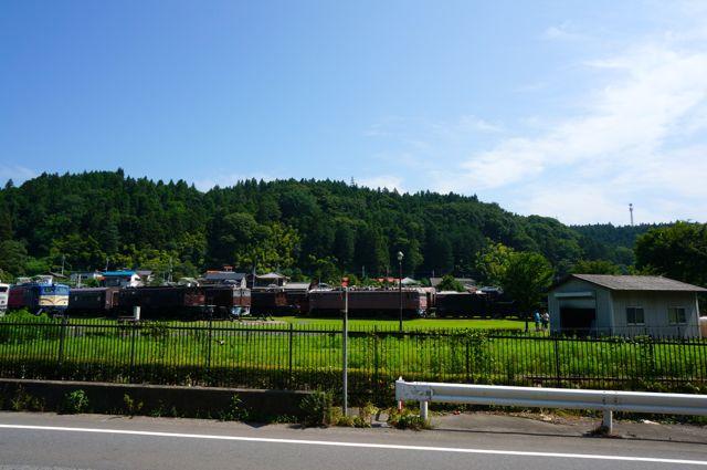 碓氷峠鉄道文化むらの電気機関車1