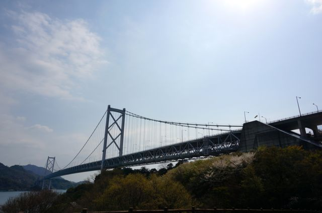 はっさく屋から見た因島大橋