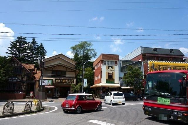 旧軽井沢ロータリー