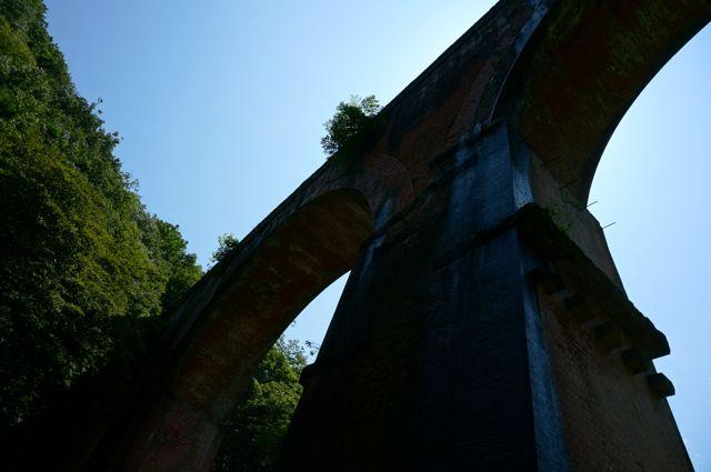 めがね橋の下