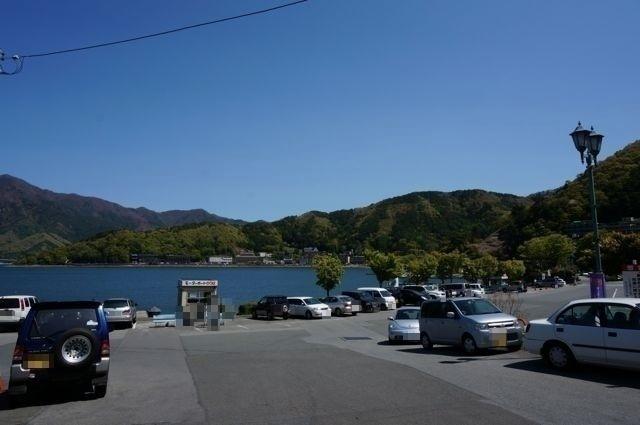 河口湖船津浜