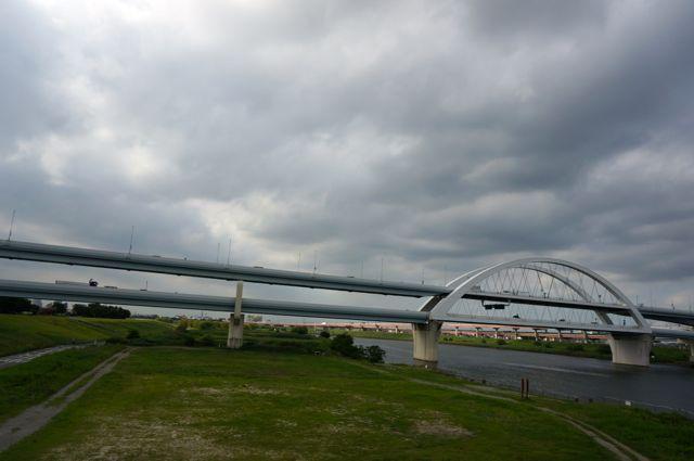 江北橋からの眺め
