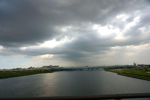 西新井橋からの眺め