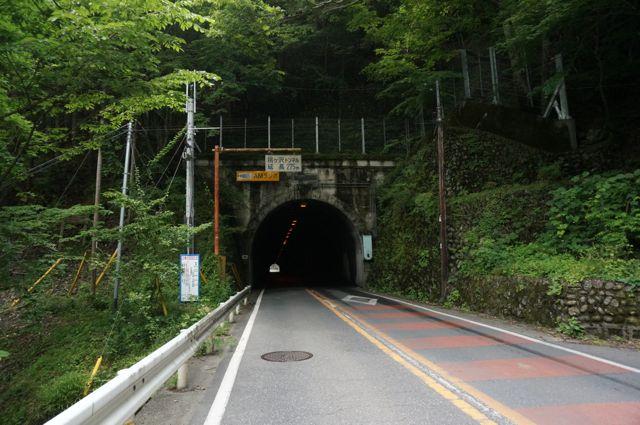 桃ヶ沢トンネル