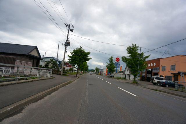 美瑛へ向かう国道237号