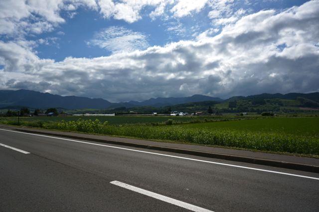 国道237号からの眺め・中富良野