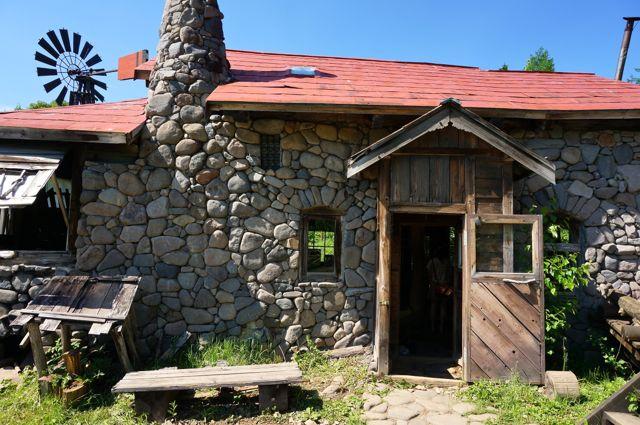 五郎の石の家・入口