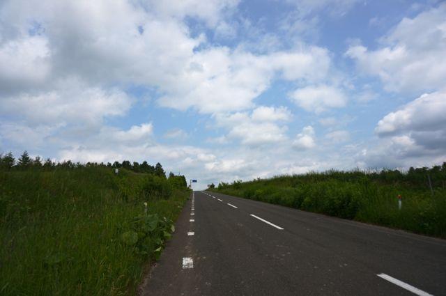 美瑛への道
