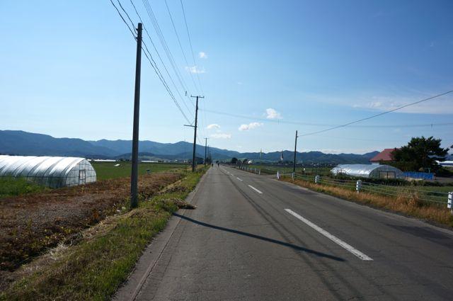 富良野スポーツセンターへの道1