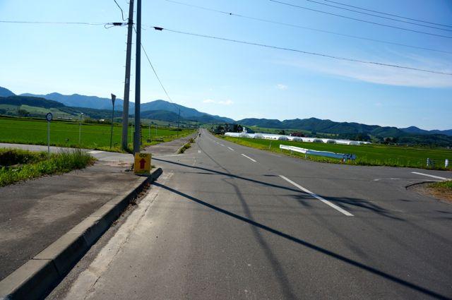 富良野スポーツセンターへの道2