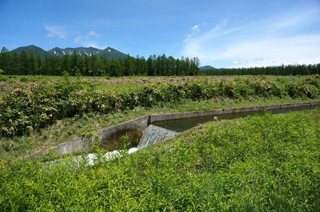 原始の泉への道からの眺め2