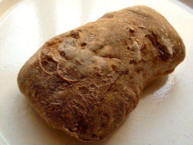 ゆずとマカダミアナッツのパン