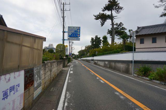 千倉町標識