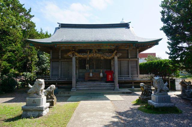 野島崎・厳島神社・拝殿