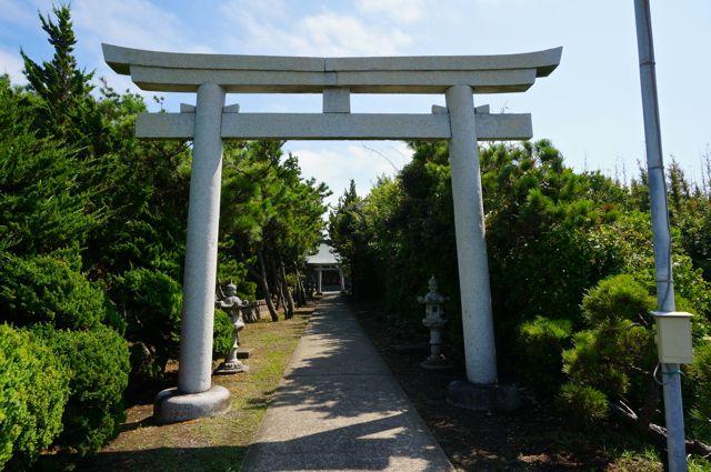 野島崎・厳島神社・鳥居1