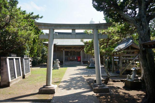 野島崎・厳島神社・鳥居2