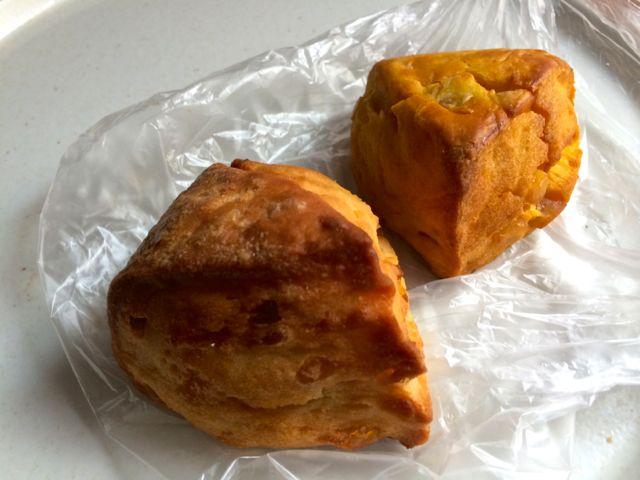 メープルスコーンとかぼちゃマロンスコーン
