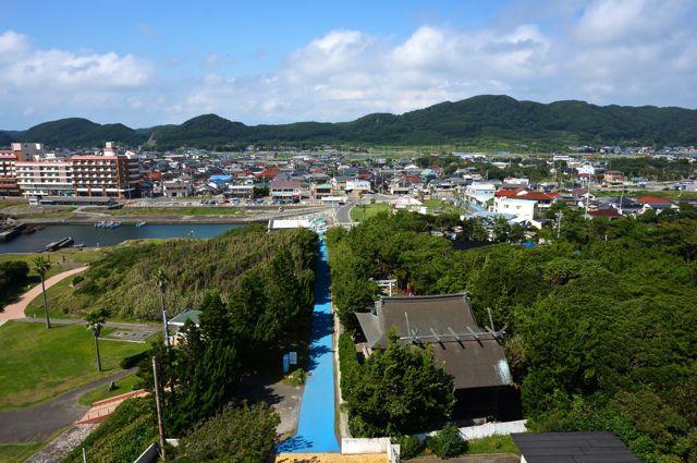 野島埼灯台からの眺め・北