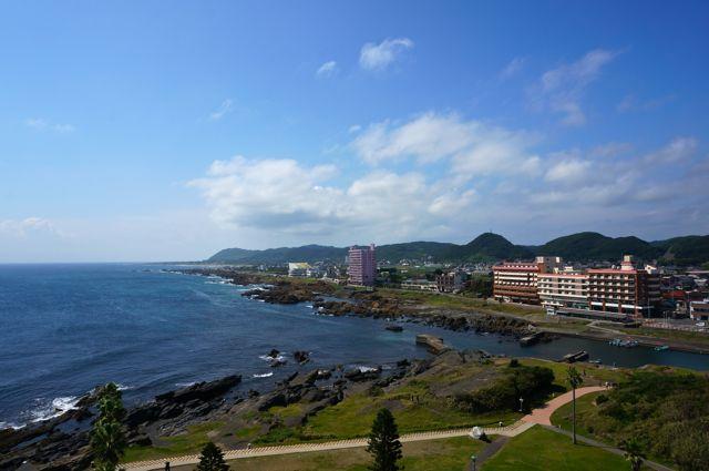 野島埼灯台からの眺め・北西