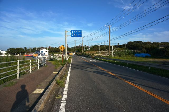 館山まで10km