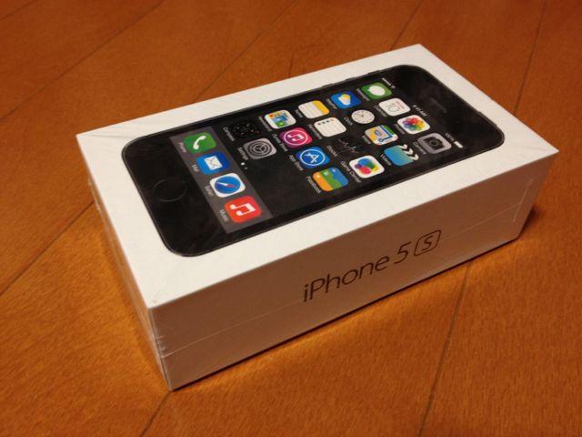 iPhone 5sパッケージ