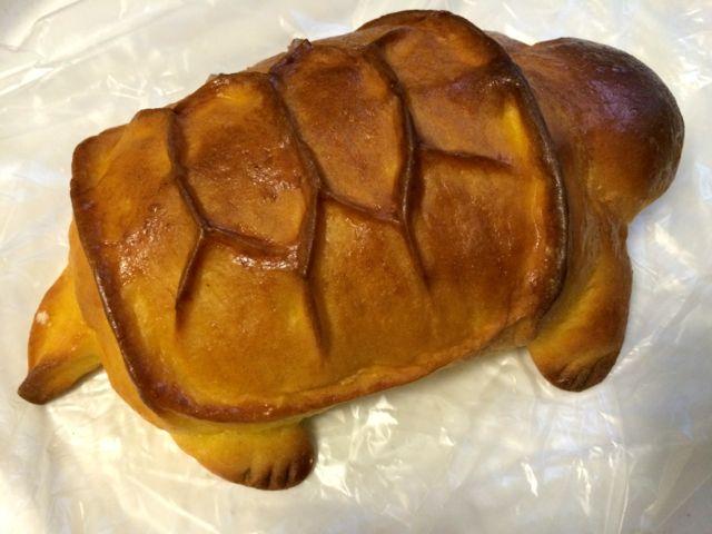 カボチャカメパン