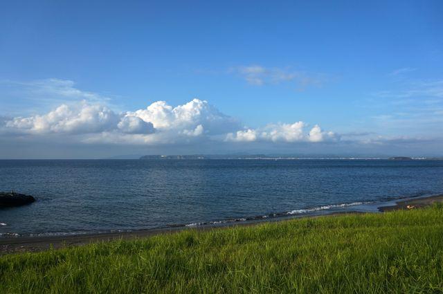 館山の海辺