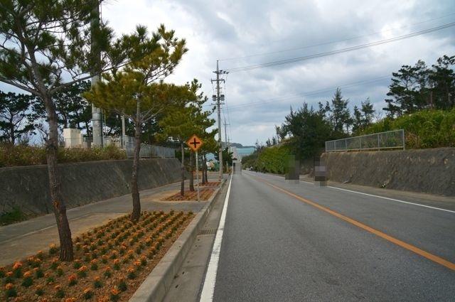 古宇利島への道(屋我地島)