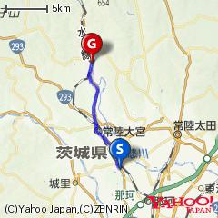 那珂市瓜連(うりづら)〜JR水郡線山方宿駅ルート