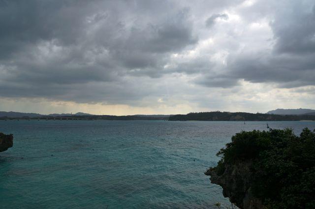 古宇利島からの眺め