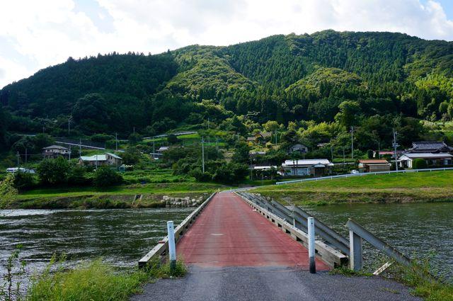 久慈川の眺め2平山橋