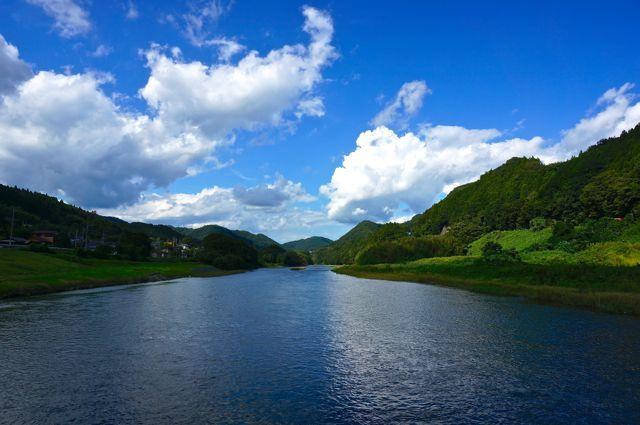 久慈川の眺め3