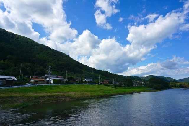 久慈川の眺め4